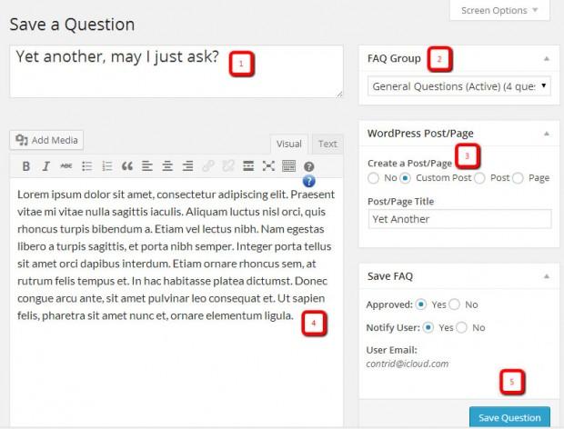 Save a Question copy