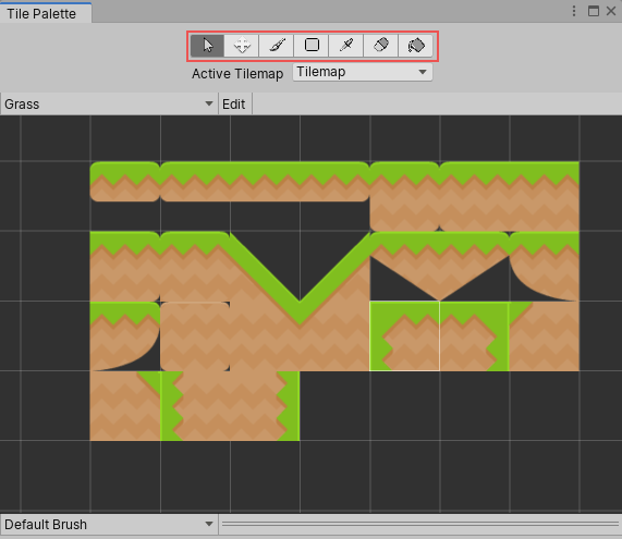 unity manual painting on tilemaps