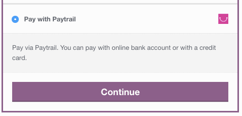 WooCommerce Paytrail checkout