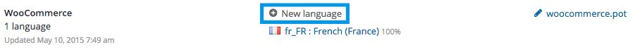 Loco Translate: add new language