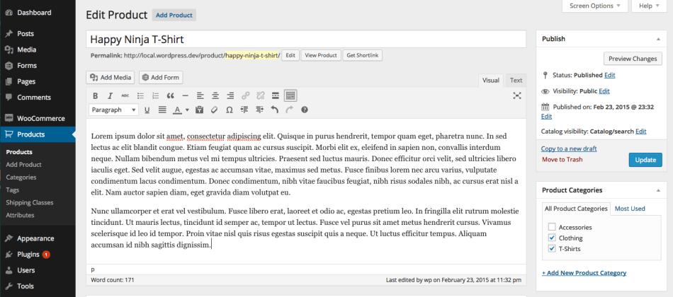 how to create a service price list wordpress