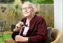 Dave Smith estuvo con infección por Covid-19 durante 10 meses (Foto: Gentileza The Guardian)