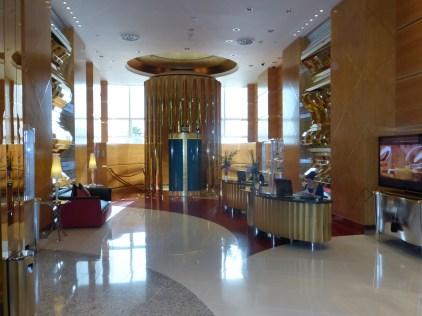 Lobby High Tea at the Burg Al Arab