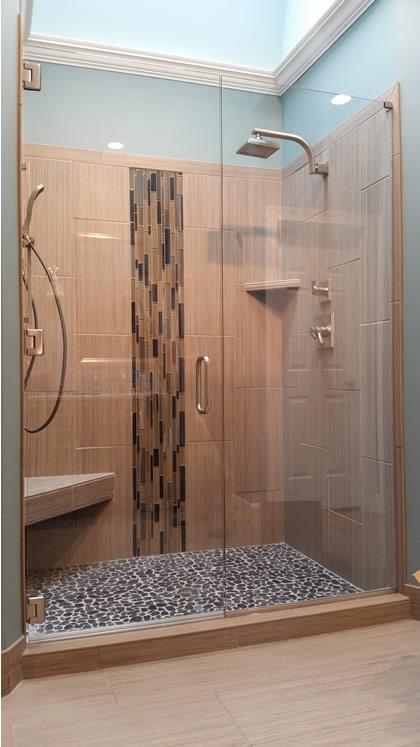 nashville shower doors frameless glass