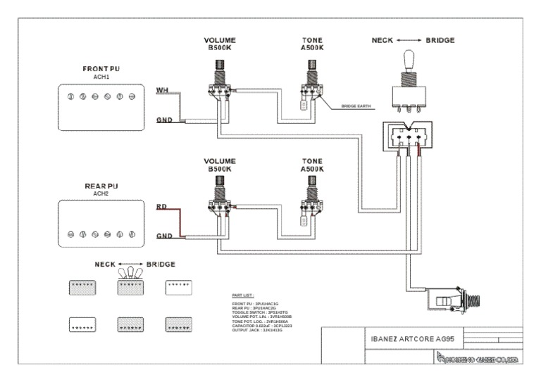 Ibanez Gio Mods Diagram – Ibanez Guitar Wiring Diagram