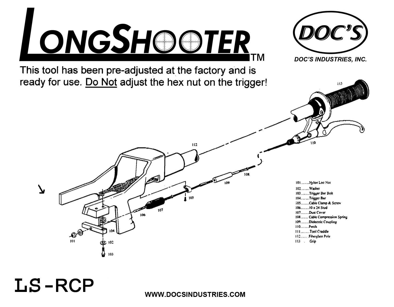 Ls Rcp Series Long Shooter