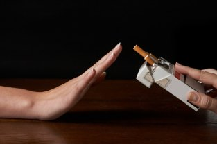 quit smoking cmpressed