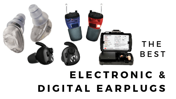 best electronic ear plugs featured image