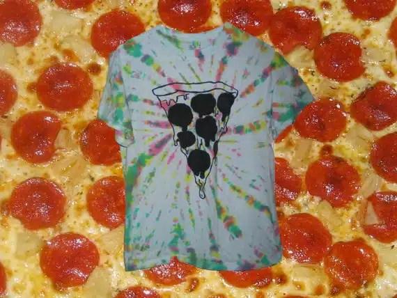 pizza attitude tshirt pizza