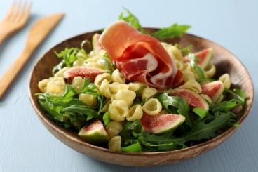 Salades d'étés - Recette de salade de gniocchi figues et roquette