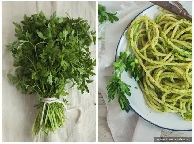 recette sauce pesto au persil