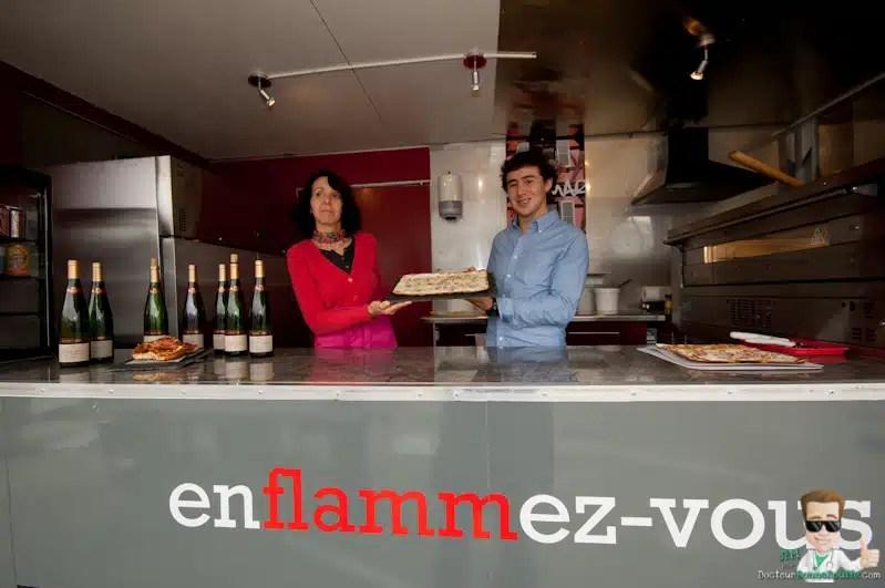 Flammatruck premier foodtruck alsacien
