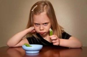 pourquoi les enfants detestent-ils les legumes?