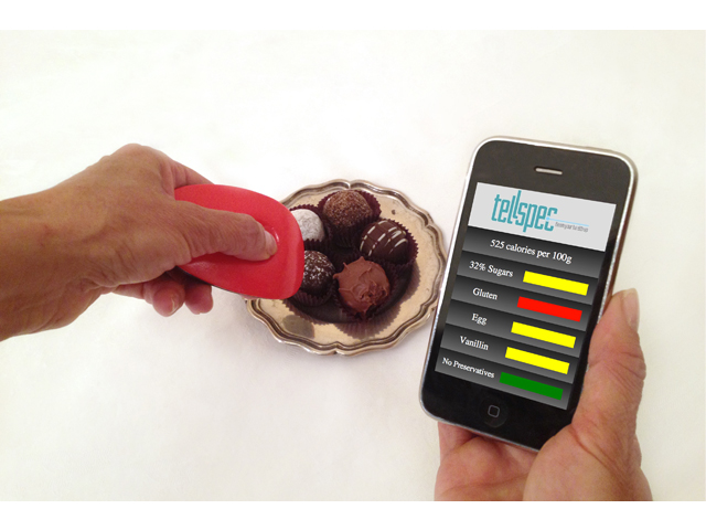 Tellspec, le scanneur de calories