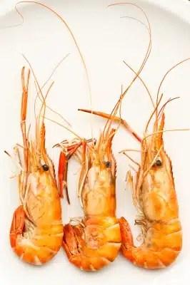 crevettes grillées alimentation santé