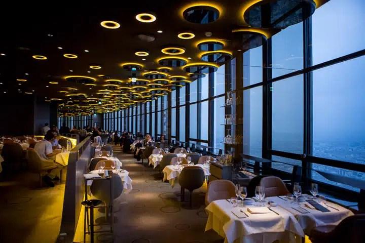 ciel de paris diner romantique tour montparnasse