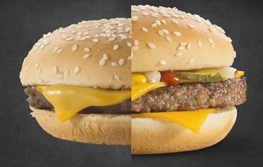 difference burger publicite vs realite (2)