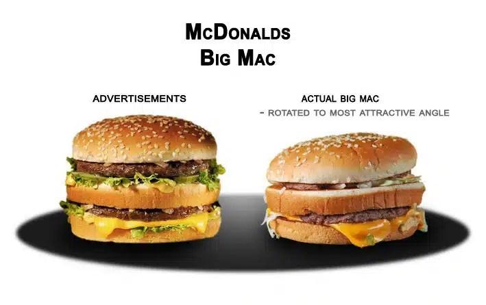 hamburgers mcdonalds toujours mieux en photo