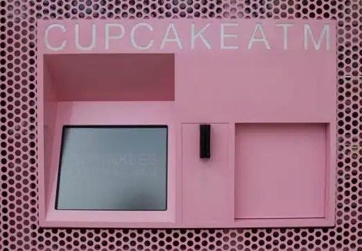 Le premier distributeur a cupcakes debarque a New York!