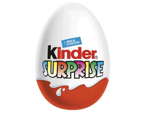 KINDER SURPRISE INTERDICTION ETATS UNIS