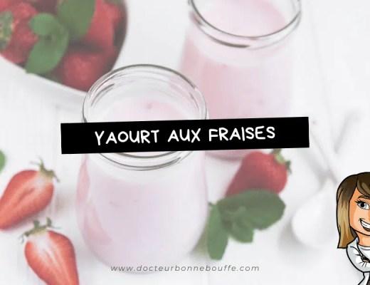 yaourts aux fraises fait maison sans yaourtiere recette