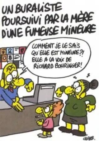 Charlie Hebdo - La problématique de la vente des cigarettes aux mineurs