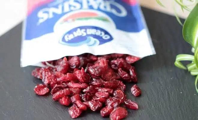 CRAISINS decouverte culinaire test