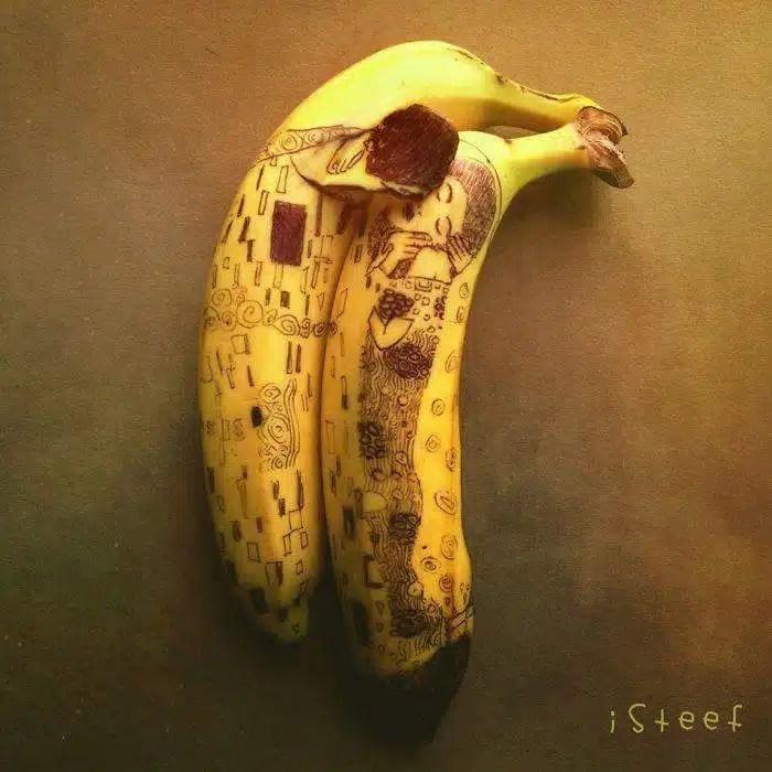 la banane et l'amour