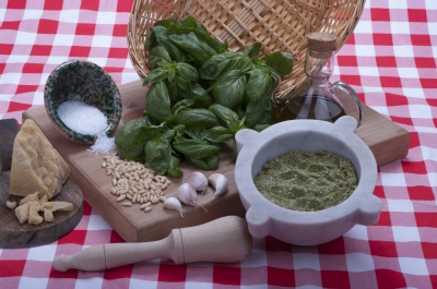 fabrication sauce pesto