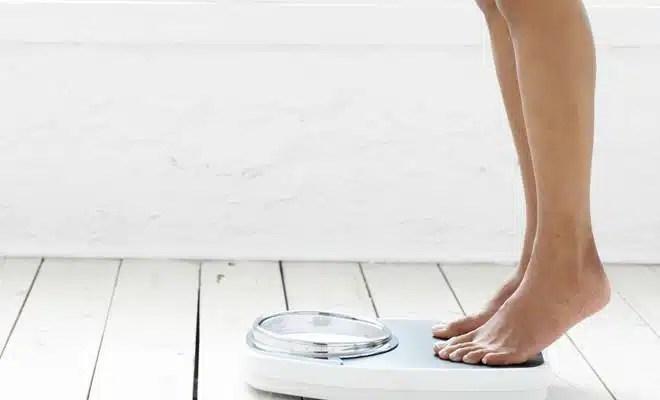 minceur balance poids