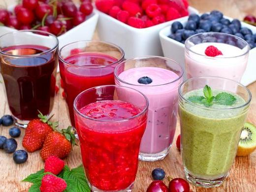 idees recettes de smoothies jus de fruits sains