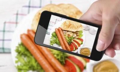 Alimentation repas téléphone portable