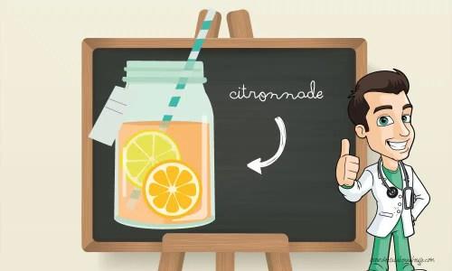 Bienfaits-citronnade