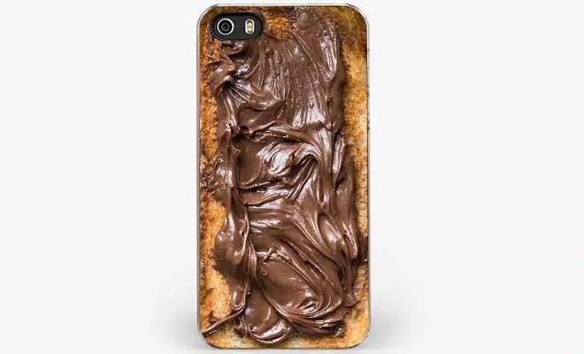 coque iphone tartine de nutella