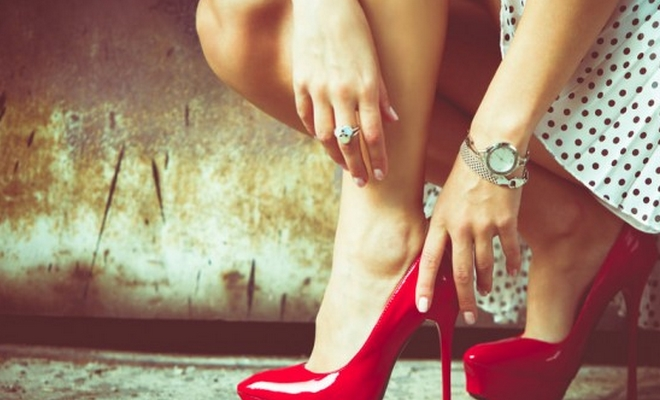 femmes talons attractivite