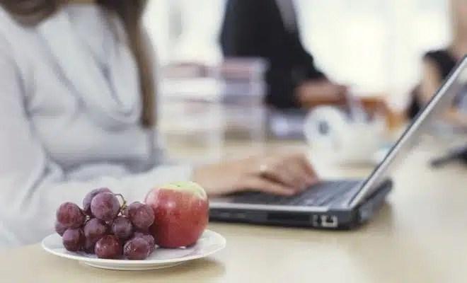 Fruits livrés au boulot