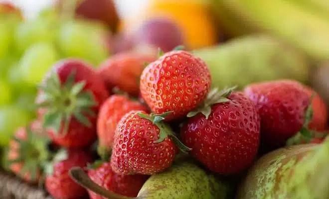 Livraison de fruits au boulot
