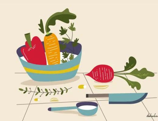Eplucher les legumes fait-il perdre leurs nutriments ?