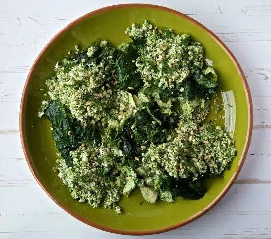 salade spiruline