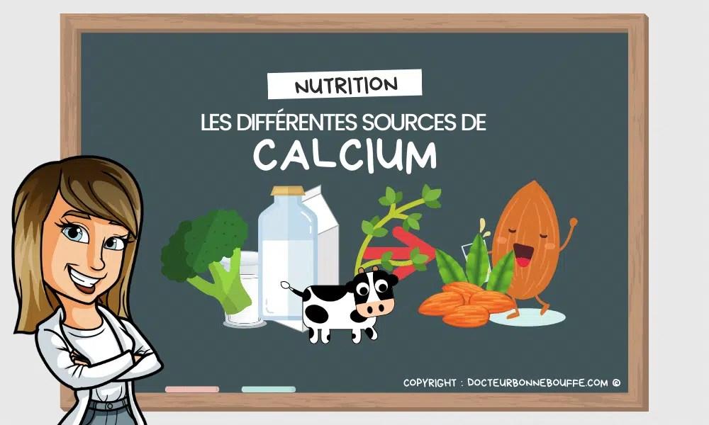 Les différentes sources de calcium hors produits laitiers