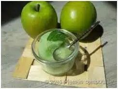 granité pomme verte