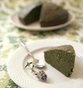 gâteau aux épinards