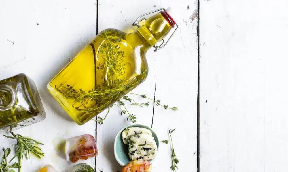 huile d'olive parfumée avantages