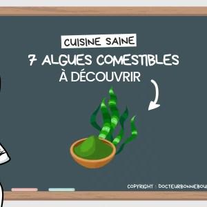 algues comestibles liste