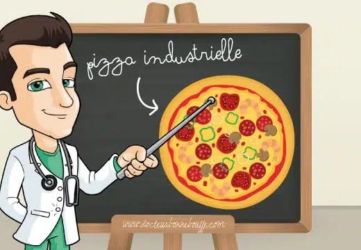 pizzas industrielles sante