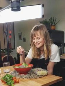 salade de falafels maison