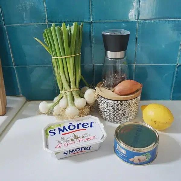 rillettes de thon st moret ingrédients