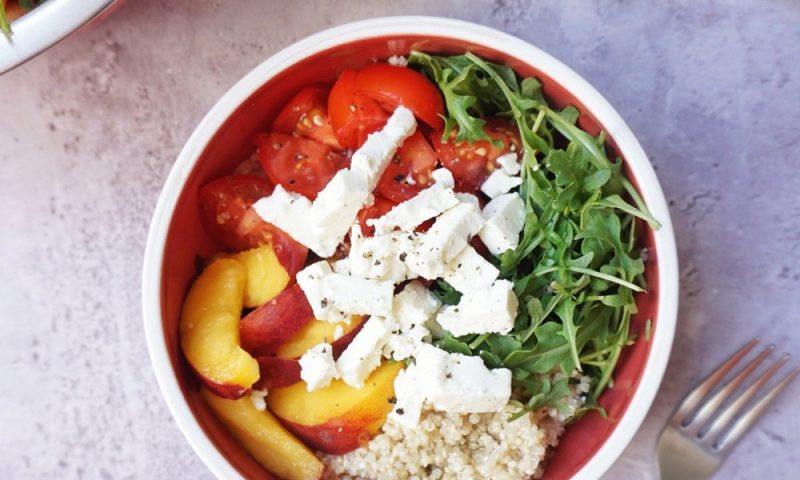 salade de quinoa healthy
