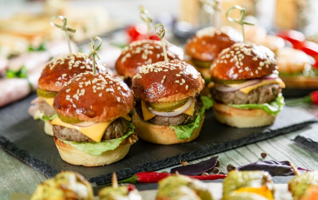 mini burger apero