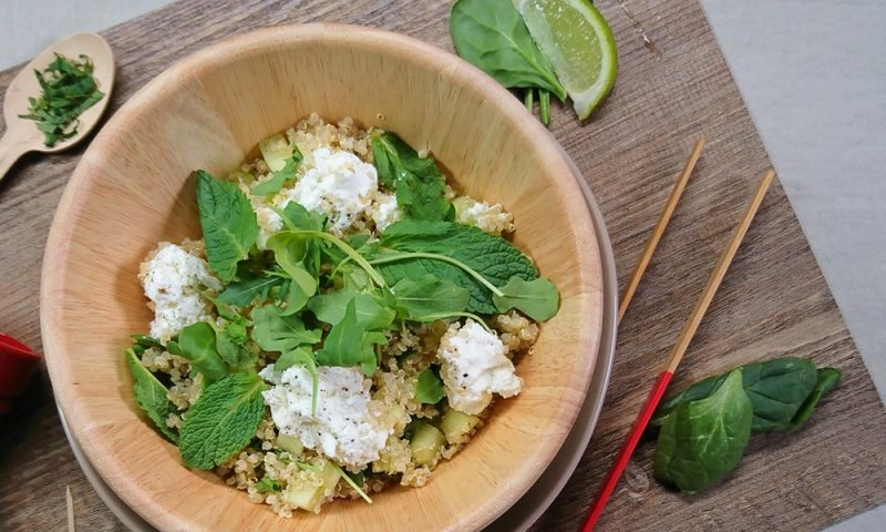 salade express quinoa recette